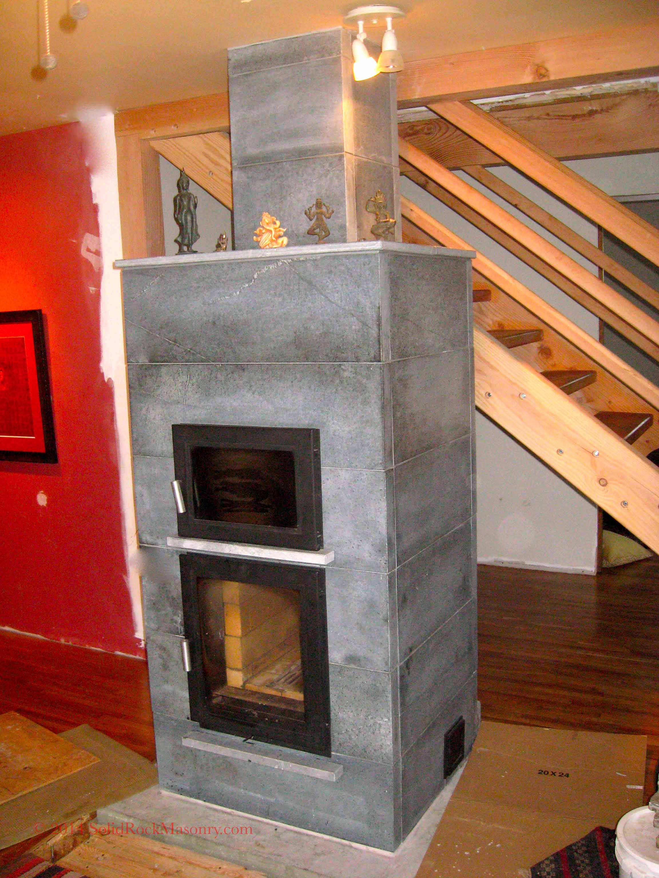 cosgrove sr 15 hybrid soapstone heater with black oven solid