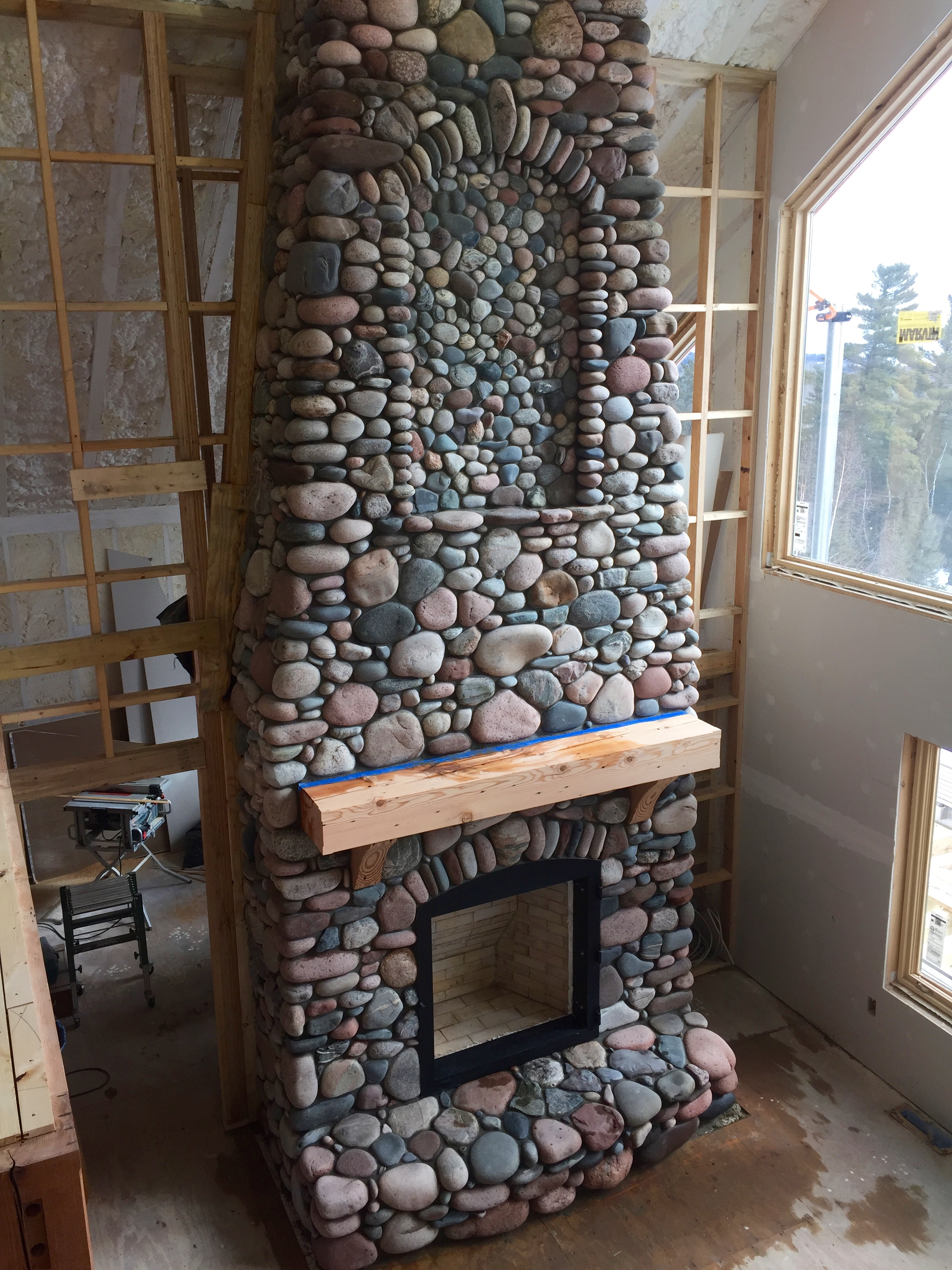 stone fireplaces solid rock masonry custom masonry in duluth mn