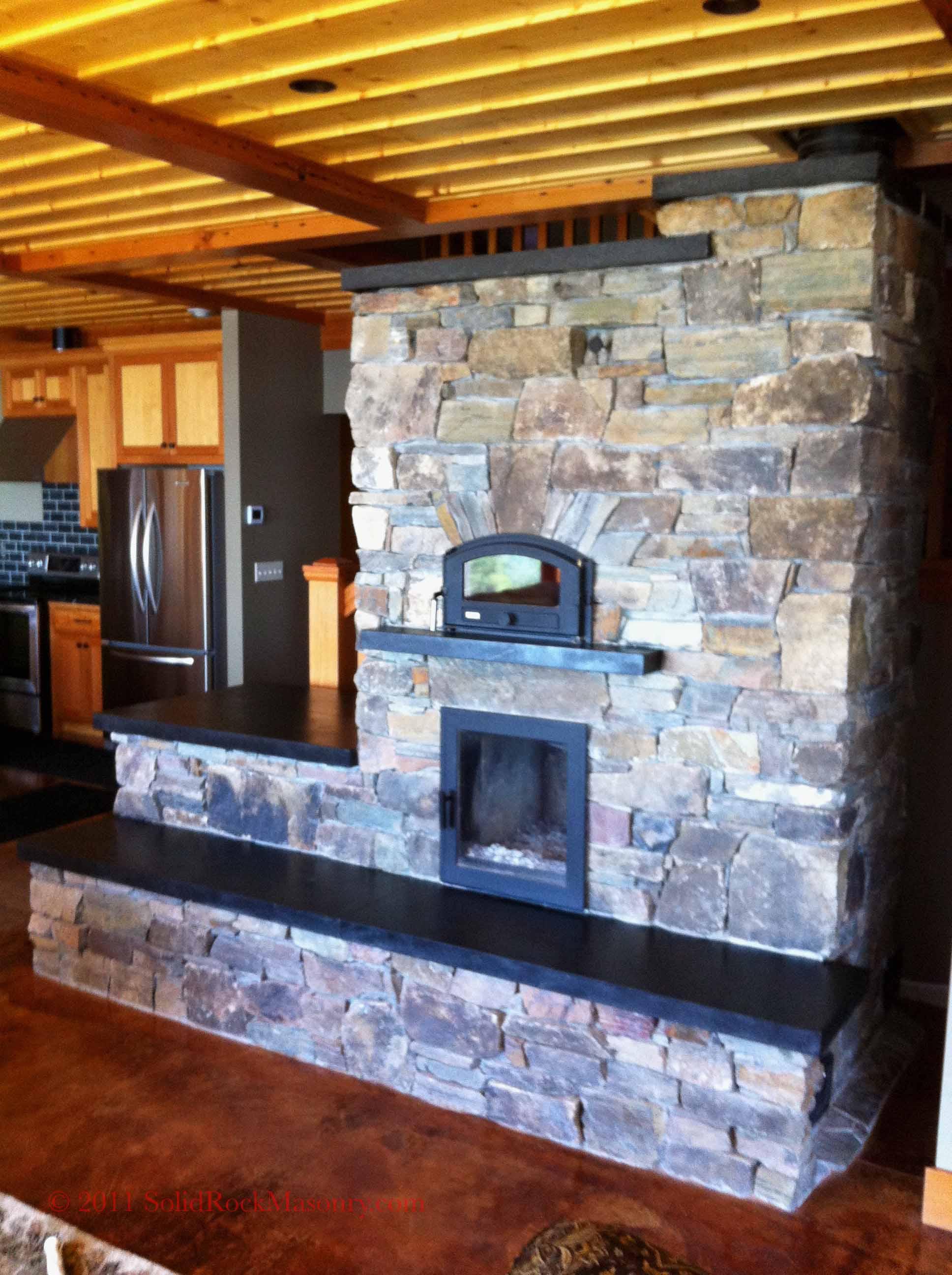 Masonry Heater | Solid Rock Masonry | Custom Masonry in Duluth, MN