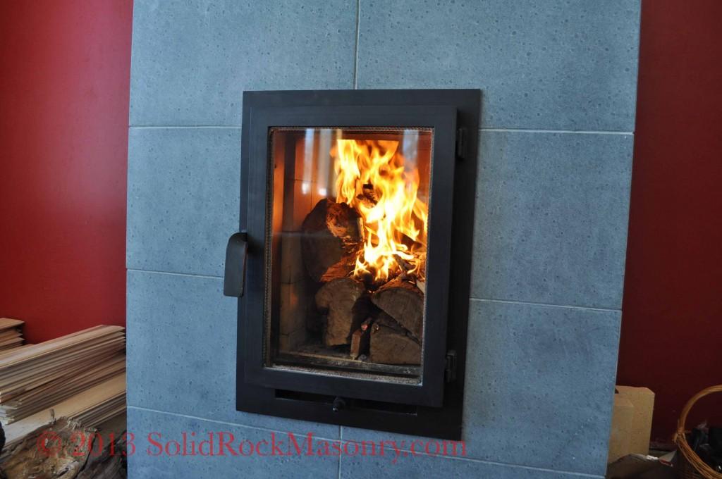 Soapstone Masonry Heater: Bergstaid Soapstone SR - 13 Short Masonry Heater